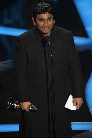 A. R. Rahman at the Oscars