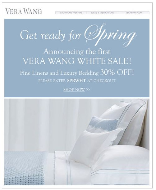 Who Doesn't Love Vera Wang on Sale