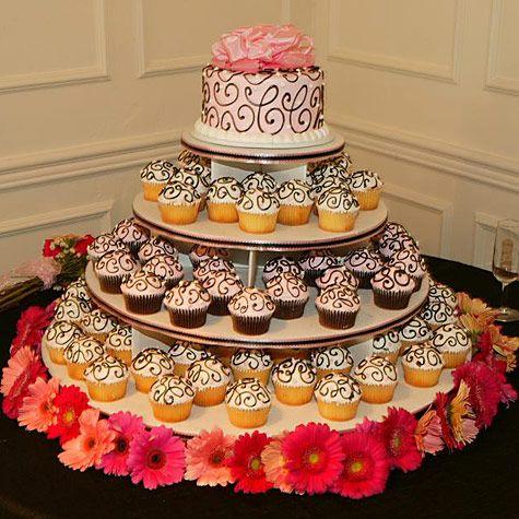 A Sweet DIY Wedding Idea: Cupcake Stands