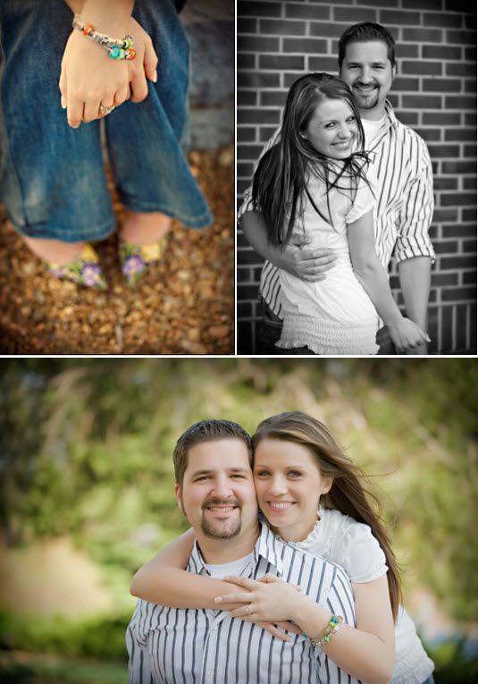 wedding ideas engagement photo session