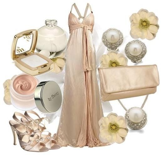 Pearls, rhinestones, and beautiful yellow and cream flowers to glam up your wedding look