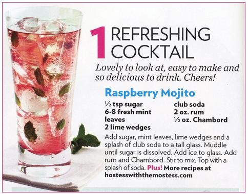 Refreshing rasberry mojito cocktail recipe for your summertime wedding celebrations