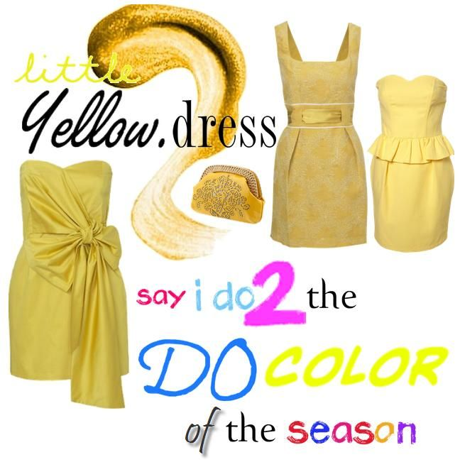Be good to your bridesmaids and dress them in yellow for your wedding