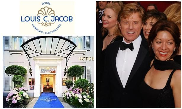 Robert Redford tied the knot this weekend in Hamburg, Germany