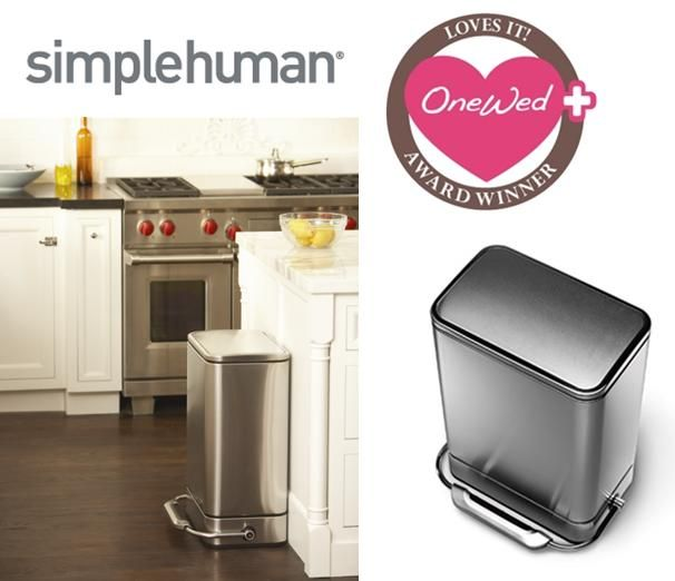 OneWed loves simplehuman products for your home!