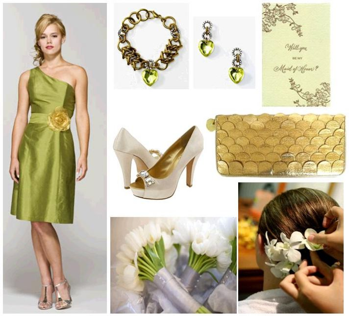 Green Means Go: Lovely Greens, Creams And Golds For Your