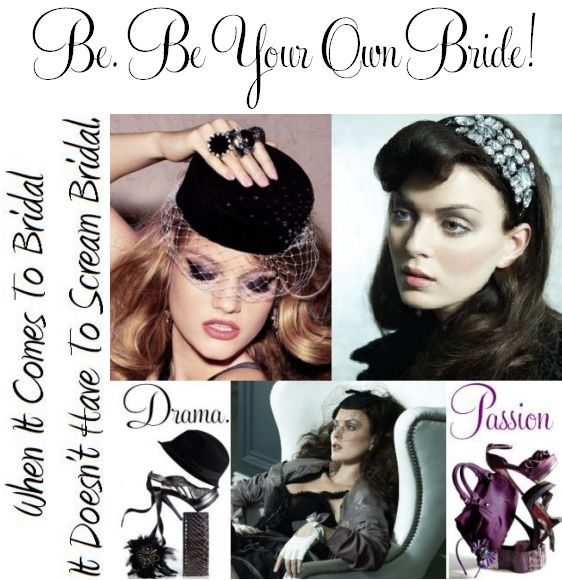 Dictate the direction of your bridal look- get creative with unique bridal accessories that you love