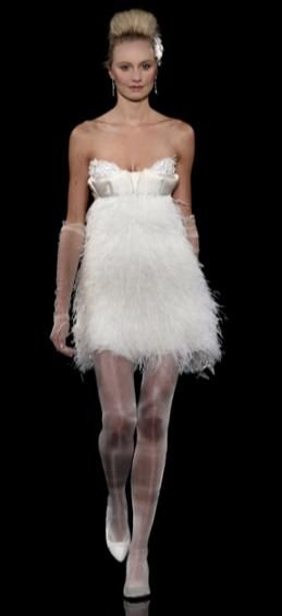 Adorable cocktail frock with sweetheart strapless neckline and feathered skirt