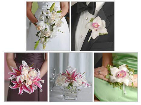 wedding flowers bridal bouquets corsages floral centerpieces