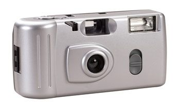 You could win 40 of these disposable cameras for your wedding guests.