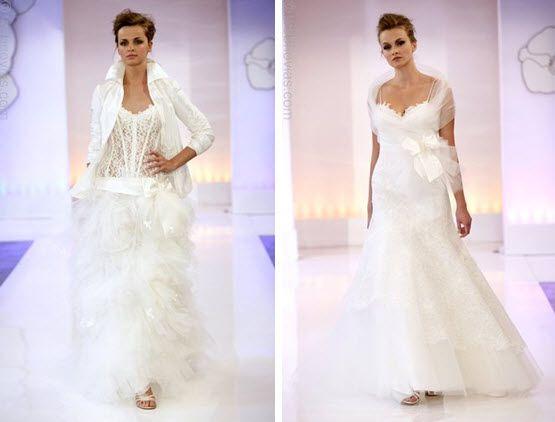 Cymbeline Paris' runway show: featuring 2010 wedding dresses