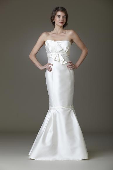 Origami wedding dress by Amy Kuschel