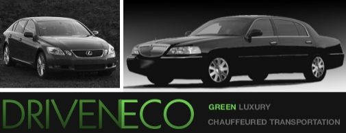 DrivenEco provides luxury wedding day transportation that is eco-friendly, too!