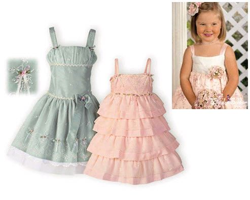 Dress Patterns on Bride Chic  Spring Kid Chic For Flower Girls And Other Pint Sized