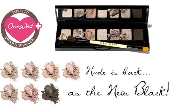 A Must-Have Bridal Beauty essential- Bobbi Brown's Shimmering Nudes eye shadow palette! Win it this