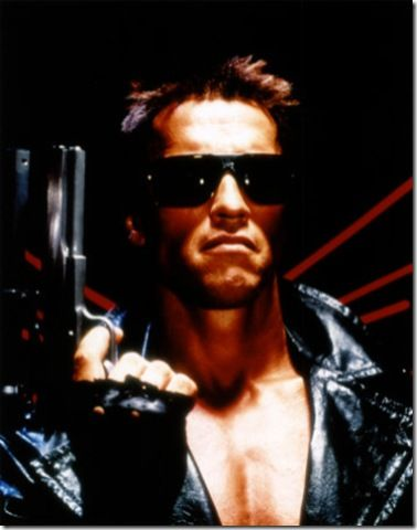 How does The Terminator sound for your wedding officiant!?