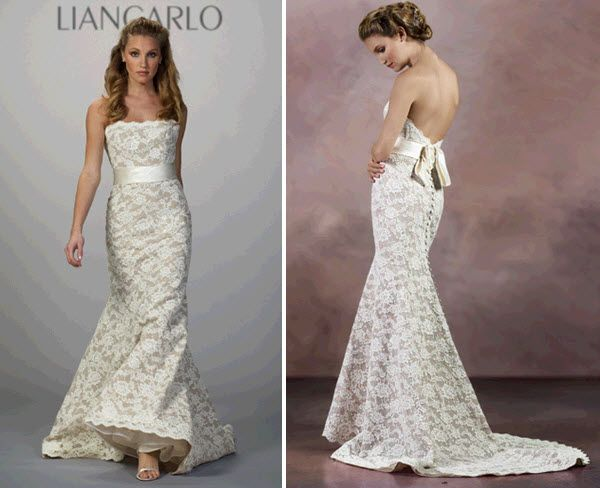Carolien 39 s blog here are some other fun looks for fall for Wedding dresses with interesting backs