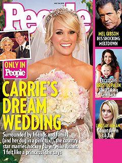 Carrie Underwood's wedding was a soft, feminine, girly dream!
