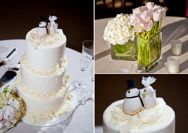 ivory-three-tier-round-wedding-cake-classic-cute-bird-cake-toppers-bride-groom-ivory-light-pink-low-table-centerpieces