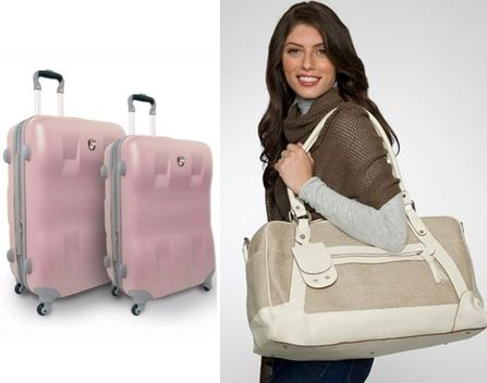Eco-friendly luggage for your honeymoon!