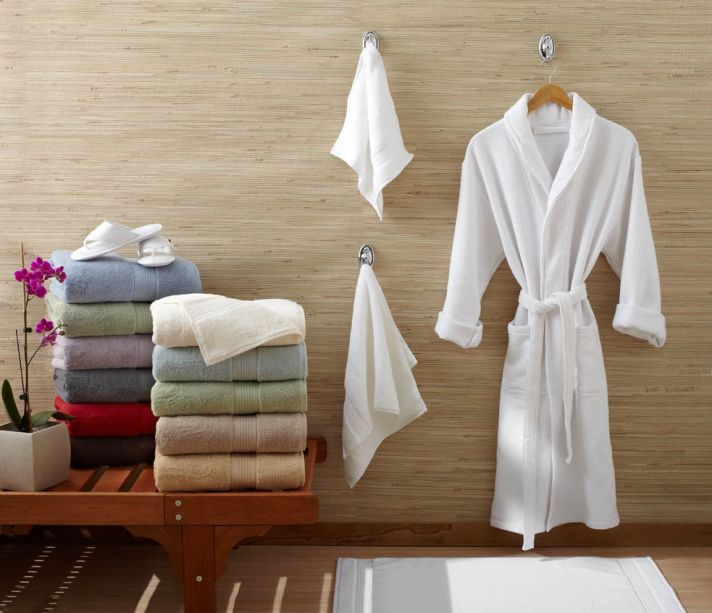 This towel collection is perfect for your wedding gift registry.