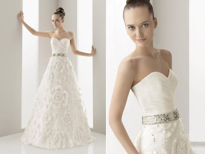 Naipe wedding dress from Aire Barcelona's Spring 2011 collection