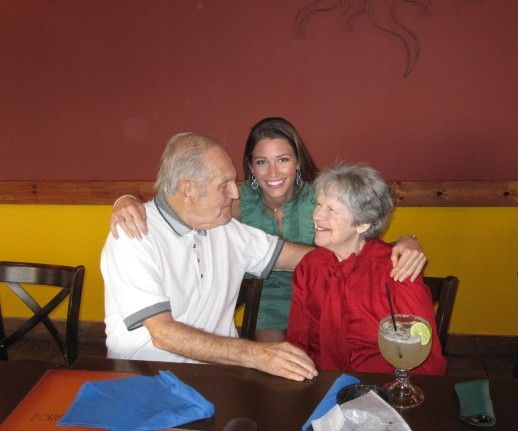 My precious gems- my grandparents