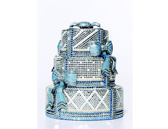 Judith Leiber enters bridal industry with cheeky wedding cake clutch