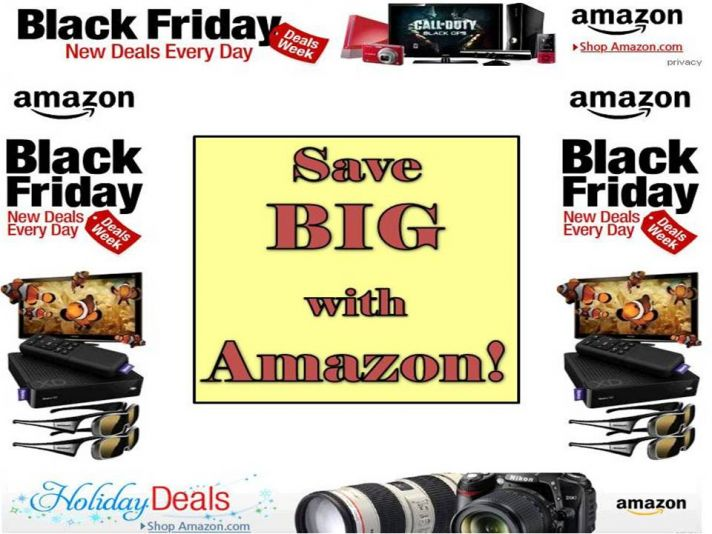 Stay on budget with great Black Friday/Cyber Monday steals from Amazon!
