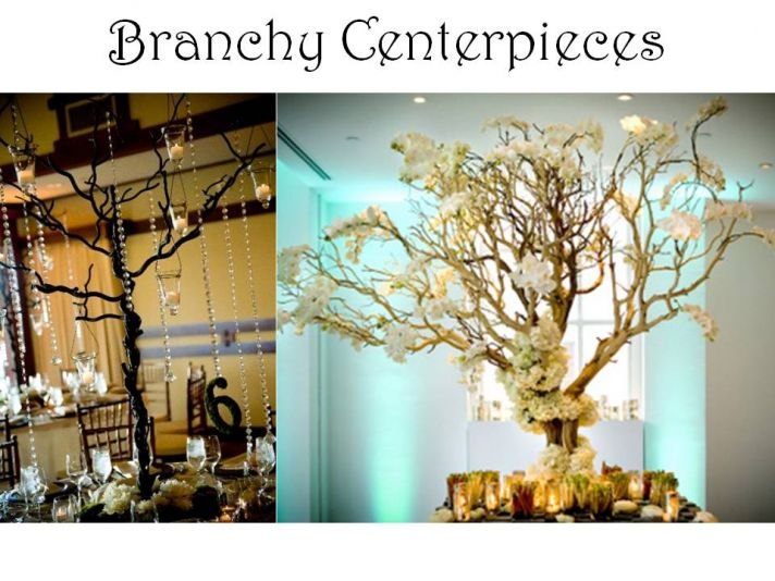 Formal Dance Decoration Ideas on Pinterest Prom Themes  : alternative wedding flower centerpieces DIY branches manzanitafull from www.pinterest.com size 712 x 534 jpeg 74kB