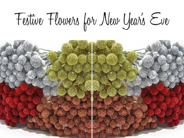 3 sparkly, festive flowers for your NYE wedding or soirée