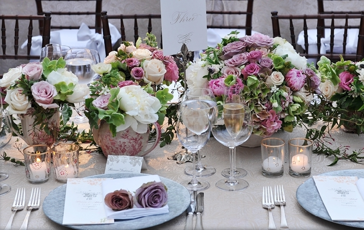 return-to-sophistication-antique-pink-purple-roses-romantic-garden-wedding-tablescape