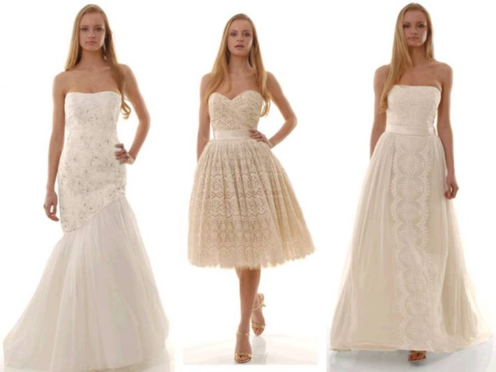 Feminine eco-friendly 2011 wedding dresses by The Cotton Bride