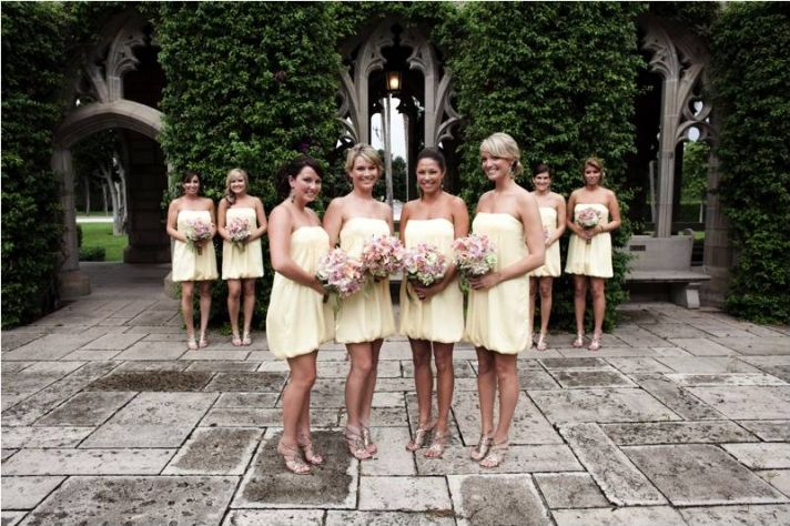 Are you grading your potential bridesmaids on their good looks?