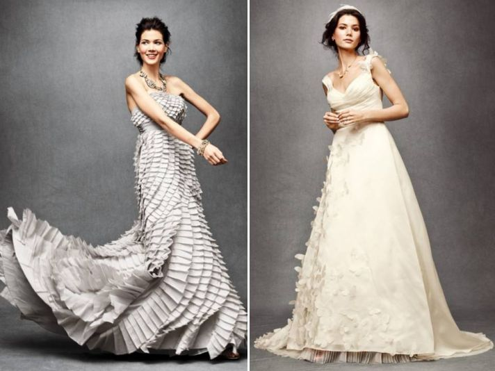 Hot off the press- new BHLDN wedding dresses from Anthropologie's new bridal line