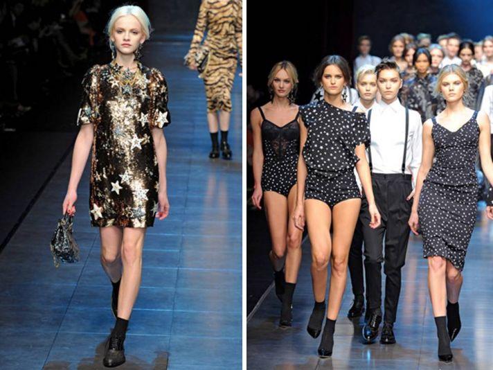 Short metallic mini wedding reception dress by Dolce & Gabbana