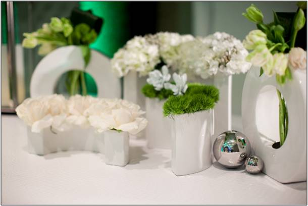 More images from the blog post 4 Wedding Flower Ideas for a Lush Green and