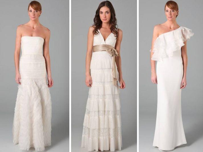 Classic a-line and mermaid designer wedding dresses
