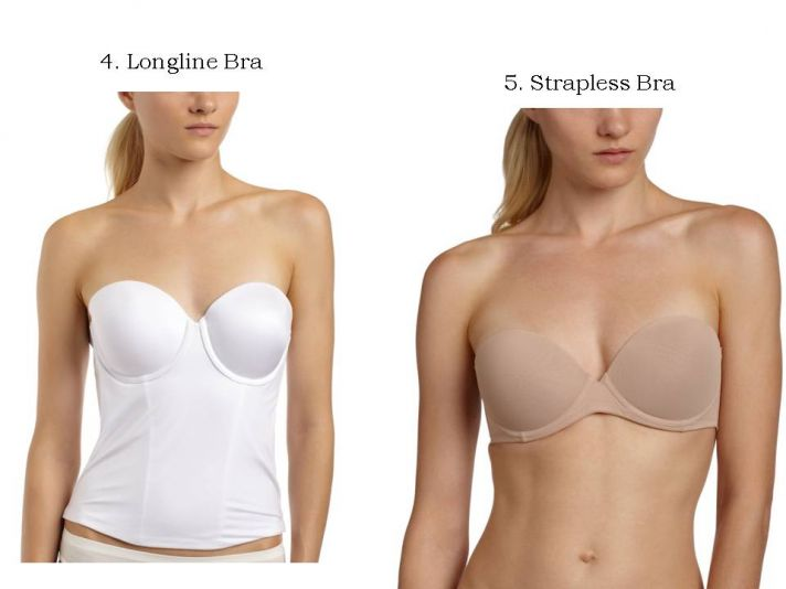 Wedding day bra basics tips and tricks onewed for What kind of undergarments for wedding dress