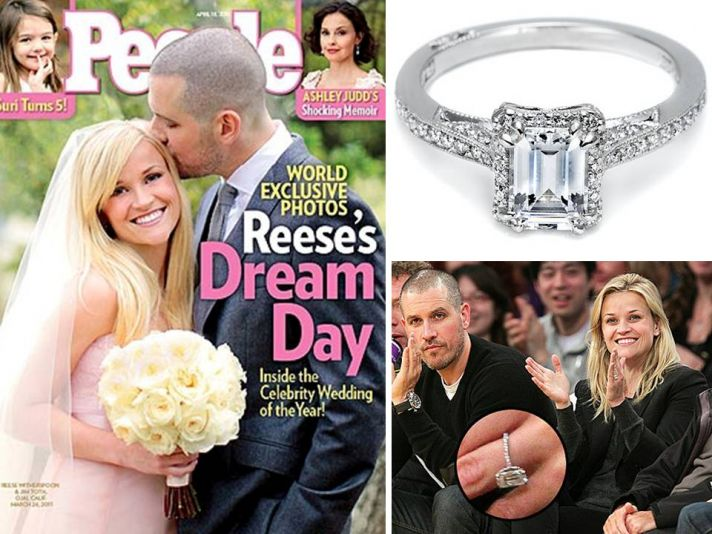 Reese Witherspoon's 4-carat diamond engagement ring is a stunner!