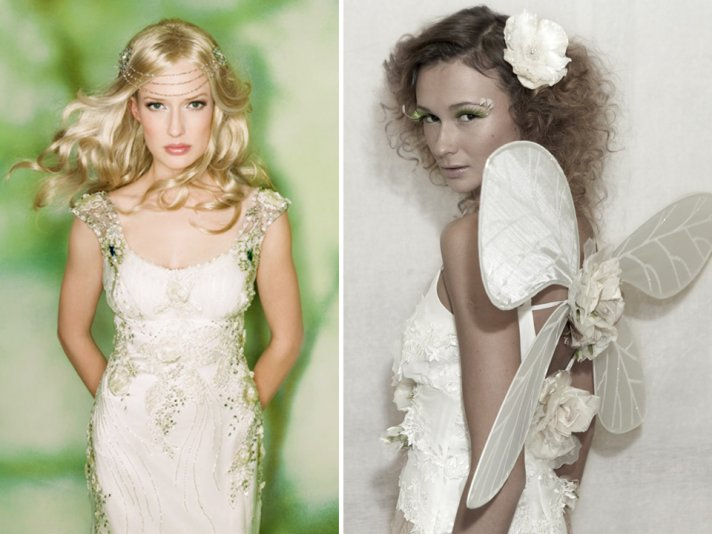 Wedding hairstyles for Summer 2011 are undone, loose and fabulous