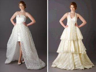 Convertible Wedding Dresses The Long And Short Of It