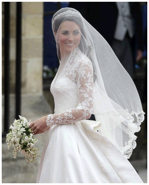Kate Middleton was gorgeous as can be on her royal wedding day