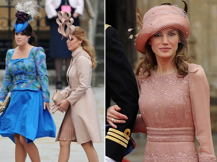 Fellow royals and wedding guests wore chic lids by Philip Treacy to the royal wedding