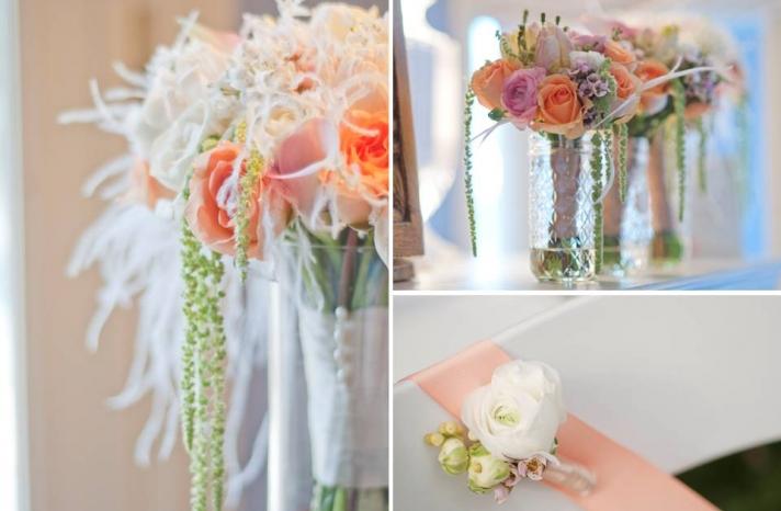 SOFT ROMANTIC wedding flowers
