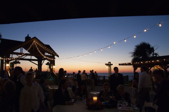 Alabama wedding venue- the perfect outdoor location for romantic sunset I Dos