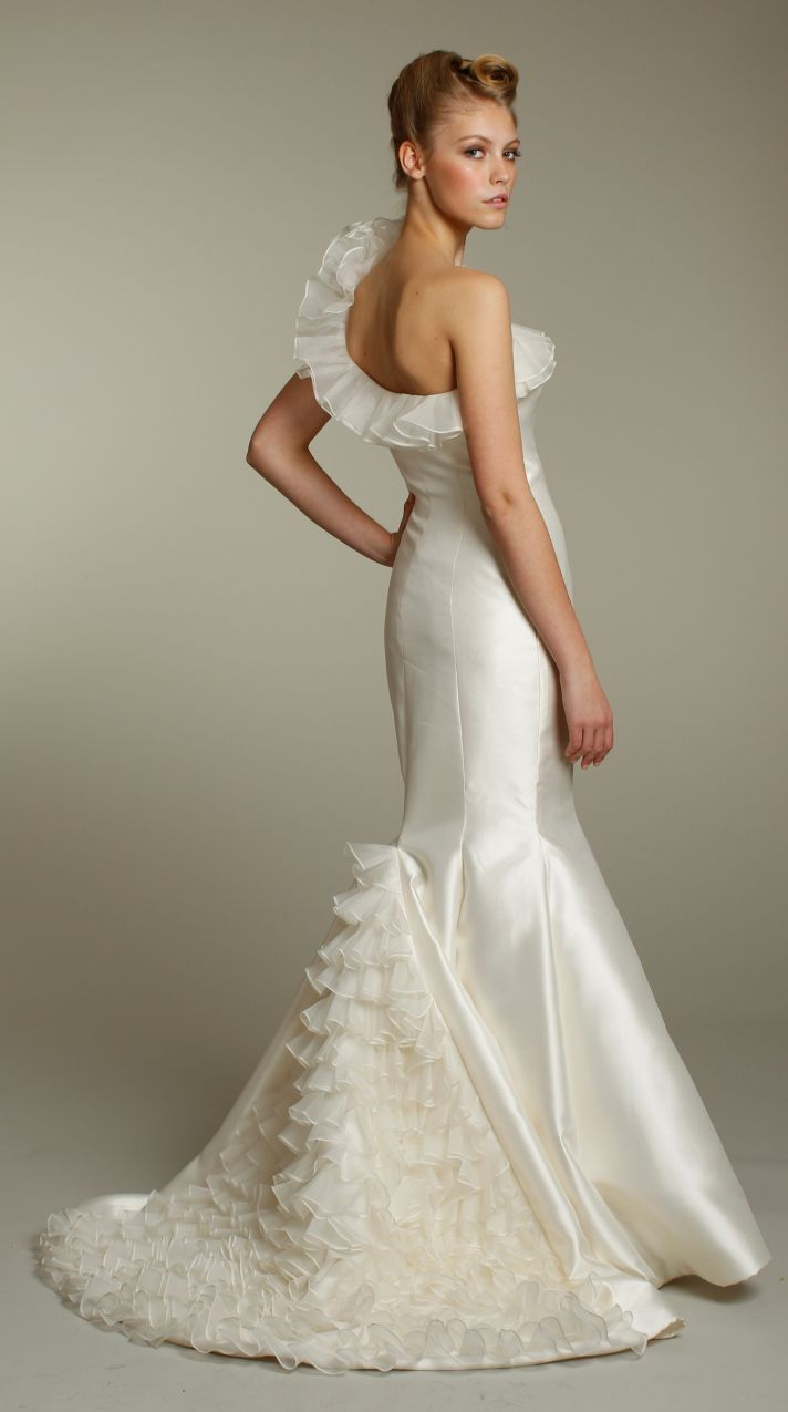 Romantic lace sweetheart neckline wedding dress with embellished bridal sash