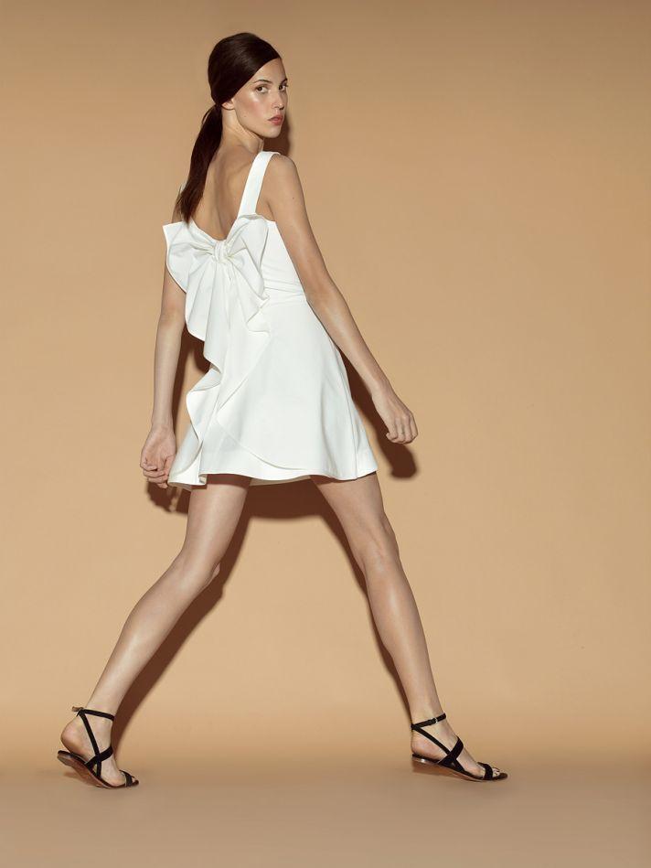 Little white dress by Valentino