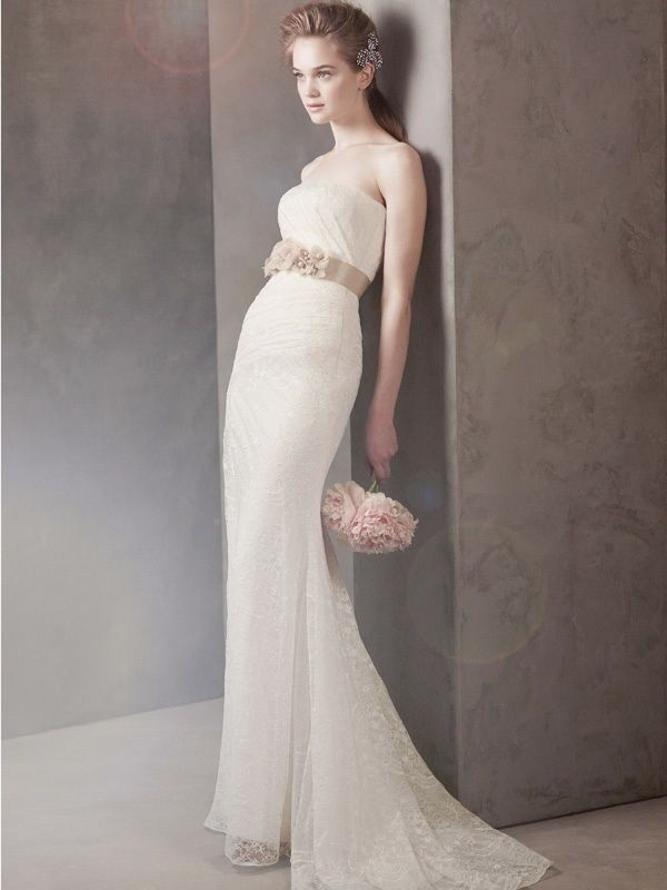 Fall 2011 wedding dresses oleg cassini white by vera for White vera wang wedding dresses