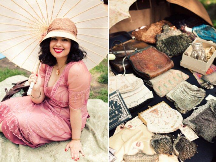Outdoor summer wedding ideas- a roaring twenties Jazz theme